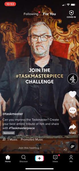 Channel 4 - Taskmaster TikTok