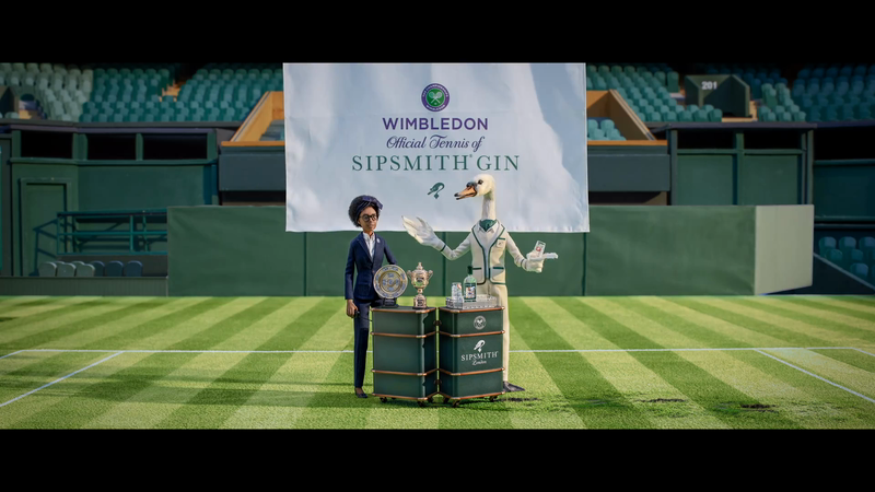 Sipsmith - Official Tennis of Sipsmith