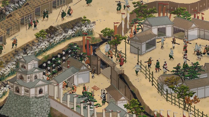 Culture Gate to Japan - 'Folding Screen of Painted Sekigahara Landscapes'