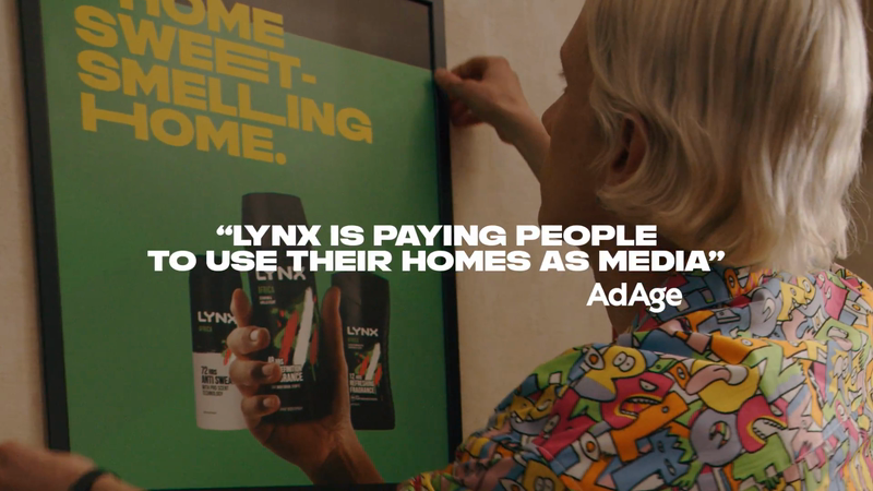 Case Indoor Ads Axe