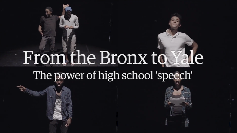 FROM THE BRONX TO YALE: THE POWER OF HIGH SCHOOL SPEECH