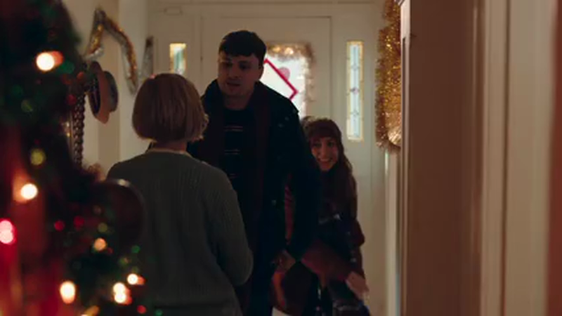 Everybody is a kid at Christmas