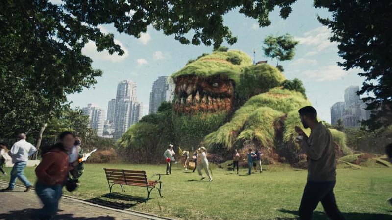 Flonase - Grass Monster