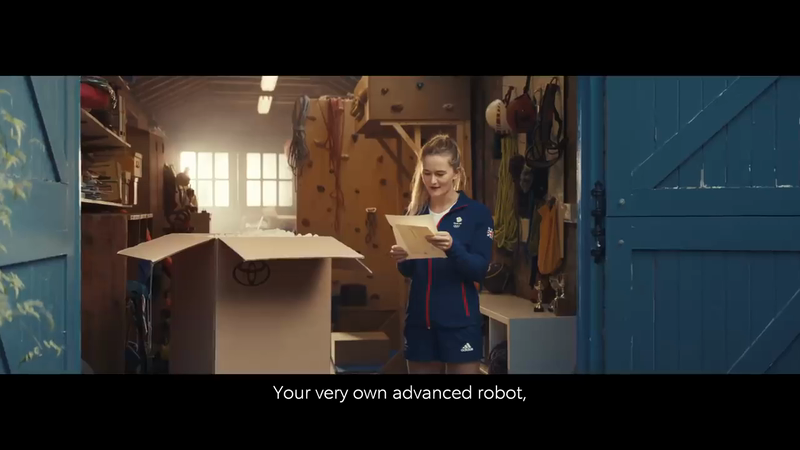 Human Support Robot - Toyota's Olympic & Paralympic Advert 2021