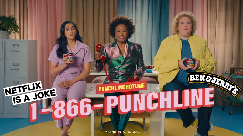 The Punch Line Hotline: Jokes and Ice Cream