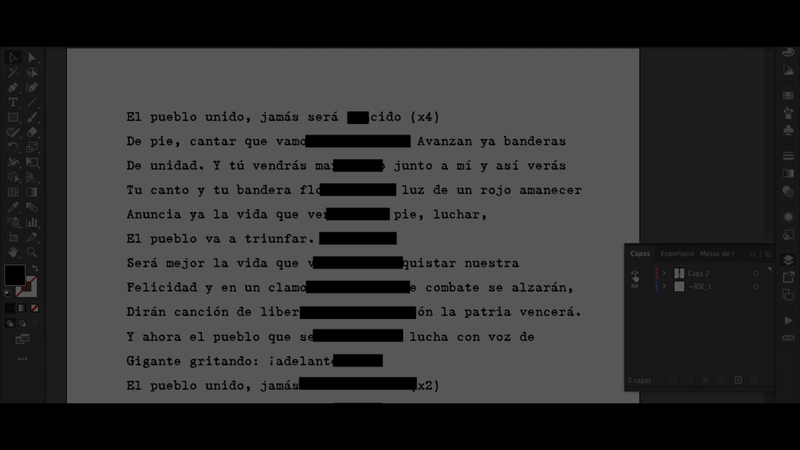 Museo de la Memoria - 'Censored Voices'